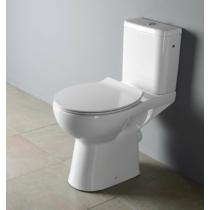 Sapho ETIUDA WC mozgáskorlátozottaknak, CLEAN ON, hátsó kifolyású, RIMLESS, 45,5cm, WC-ülőke nélkül
