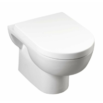 Aqualine MODIS fali WC, 51x35,6cm, WC-ülőke nélkül
