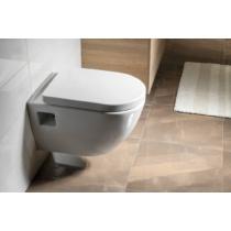 Aqualine NERA Fali WC, 35,5x50cm, WC-ülőke nélkül