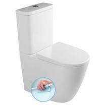 Turku Rimless WC, Soft-Close ülőke, alsó/hátsó bekötés