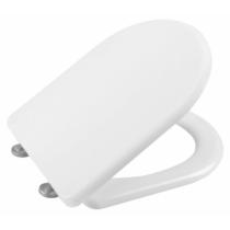 Sapho LENA soft close WC-ülőke, duroplast, inox pánt