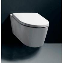 GSI NORM WC-ülőke, duroplast, fehér/króm