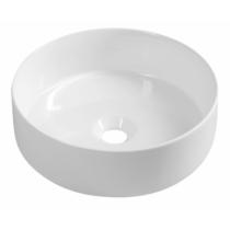 Infinity Round kerámiamosdó, 36x12 cm, fehér