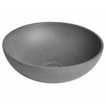 BLOK kőmosdó, 60x11x35cm, matt marquin