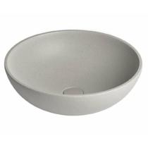 TURF beton mosdó, átm:44cm, fehér homokkő