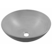 Formigo beton mosdó, átmérő: 41cm, világos szürke