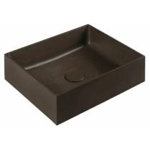 FORMIGO beton mosdó, 47,5x13x36,5cm, sötét barna