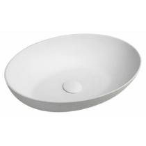 FORMIGO beton mosdó, 60x14,5x40,5cm, fehér