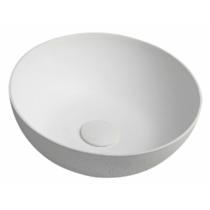 FORMIGO beton mosdó, átm:39cm, fehér (FG031)