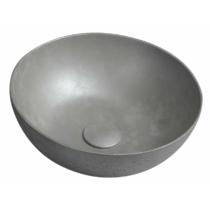 Formigo beton mosdó, átm:39cm, ezüst