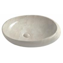 Sapho Dalma kerámiamosdó, 68x44x16,5cm, bézs márvány