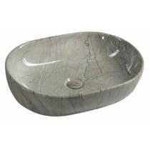 Sapho Dalma kerámiamosdó, 59x42x14cm, szürke márvány