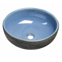 Priori kerámiamosdó, átm:41cm, kék/szürke