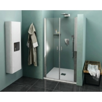 Sapho Polysan Zoom Line zuhanyajtó, duplaszárnyú, 1000mm, transzparent, króm