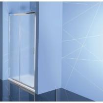 Sapho Polysan Easy Line eltolható zuhanyajtó, 1200mm, BRICK üveg