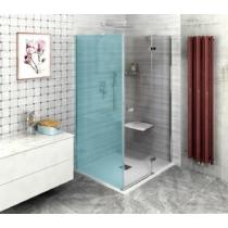 Sapho Polysan Fortis Line nyíló zuhanyajtó, oldalfalhoz, jobbos, 1000mm, króm