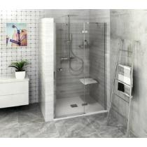 POLYSAN FORTIS LINE zuhanyajtó, 2 részes, jobbos, 1000mm, króm