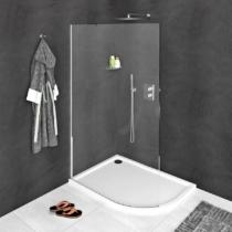 Sapho Polysan Modular  Shower Fix íves zuhanyfal, 80 cm