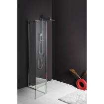 Sapho Polysan Modular nyíló zuhanyfal, L típusú, ajtós változat, 2/2-es modul, 30 cm