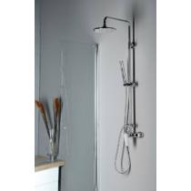 Sapho Trevia zuhanyoszlop csapteleppel, fej- és kézizuhannyal, króm