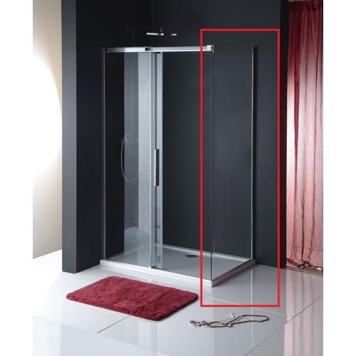 POLYSAN ALTIS LINE oldalfal, 800mm, transzparent üveg