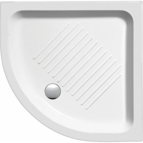 GSI kerámia íves zuhanytálca 90x90 cm 12 cm magas