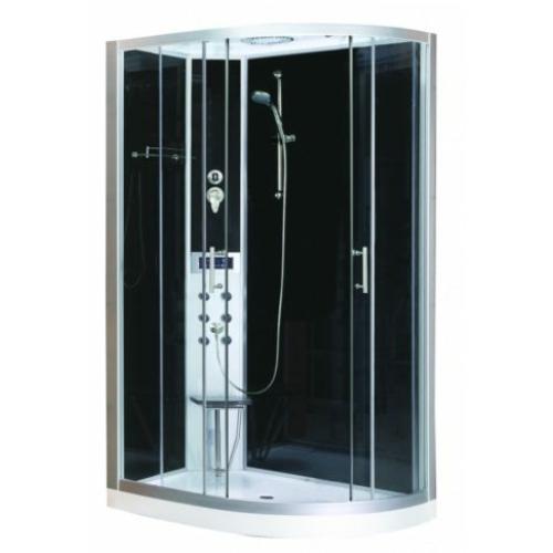 VARIO hidromasszázs zuhanykabin elektronikával, balos kivitel