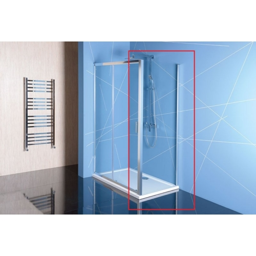 POLYSAN EASY LINE oldalfal, 700mm, transzparent üveg