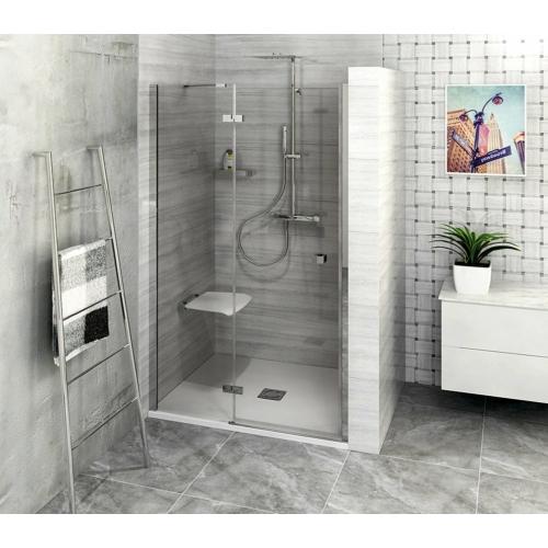 POLYSAN FORTIS LINE zuhanyajtó, 2 részes, balos, 1000mm, króm