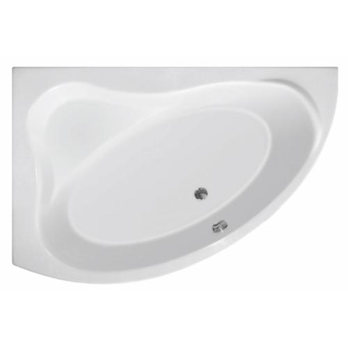 Aqualine Orava kád, láb nélkül, balos 150x90x38cm, akril