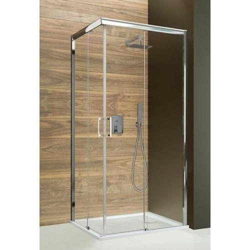 KN/FREEZONE szögletes tolóajtós zuhanykabin
