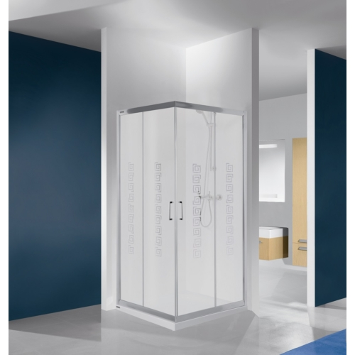 KN/TX4b szögletes tolóajtós zuhanykabin