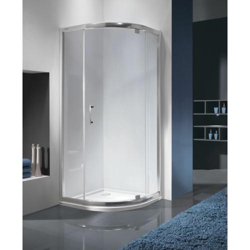 KP1DJa/TX5b íves nyílóajtós zuhanykabin (5mm)