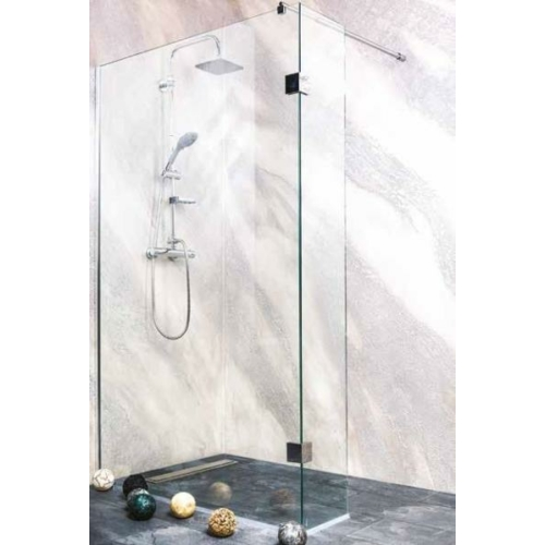 "WIDE II kétrészes zuhanyfal ""EASY CLEAN"" (8 mm)"