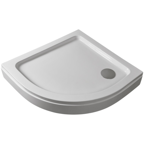 Íves zuhanytálca levehető előlappal