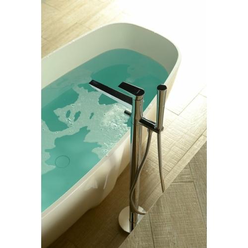 Sapho Axamite kádtöltő csaptelep, zuhanyszettel, króm