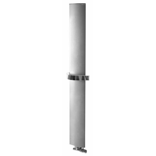 Sapho RIDEA OTHELLO MONO SLIM fürdőszobai radiátor, 300x1890mm, metál ezüst