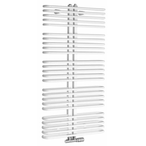 Sapho ASTRA fürdőszobai radiátor, 600x1170mm, 850W, fehér