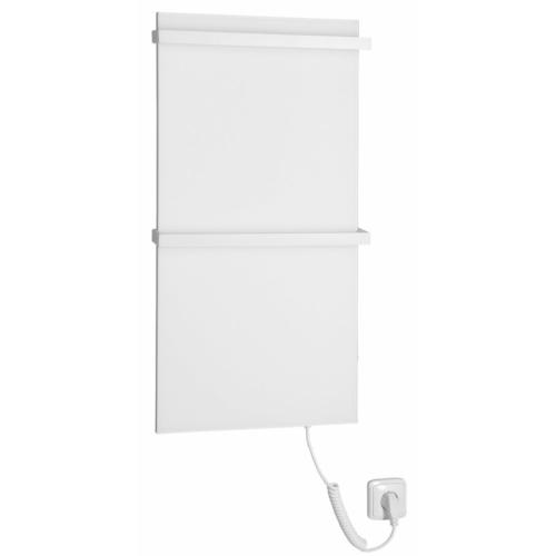 Sapho ELMIS elektromos radiátor, 400x800mm, 100W, matt fehér