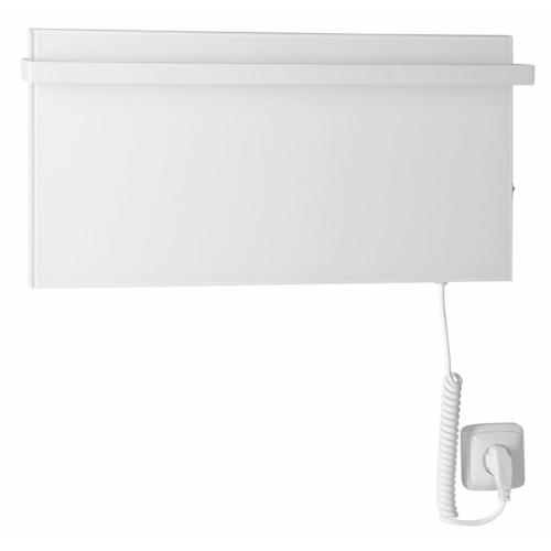 Sapho ELMIS elektromos radiátor, 600x300mm, 80W, matt fehér