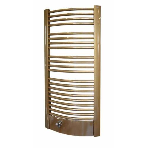 Sapho EGEUS fürdőszobai radiátor, 595x1154mm, 1031 W, bronz