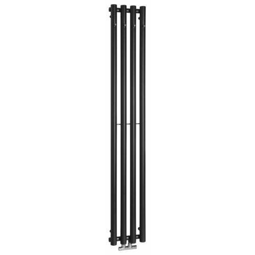 Sapho PILON fürdőszobai radiátor, 270x1800mm, matt fekete