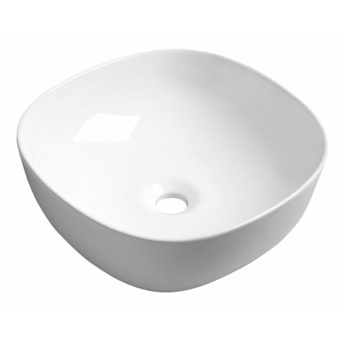 Sapho MORO kerámiamosdó, pultra szerelhető, túlfolyó nélkül, 41x14,5x41cm