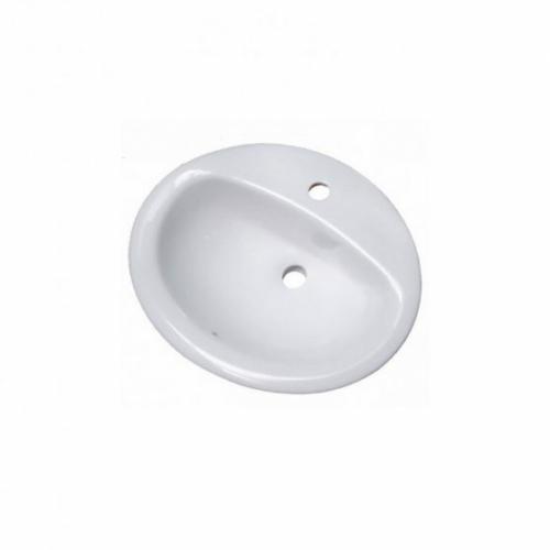 Sanotechnik Kerámiamosdó, beépíthető, ovális