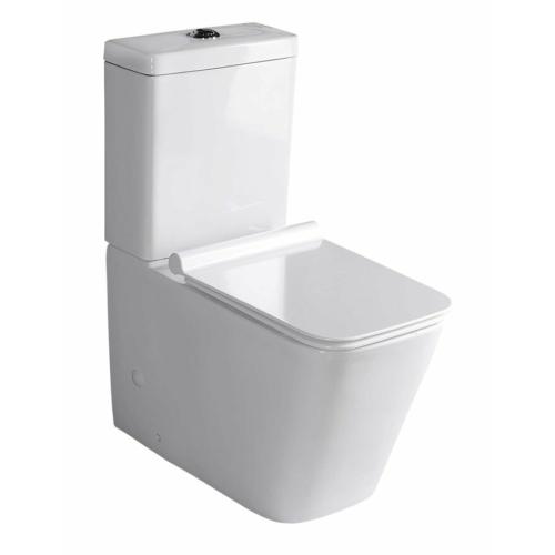 Porto kombi WC tartállyal, Soft-Close ülőkével, duálgombos öblítőmechanikával