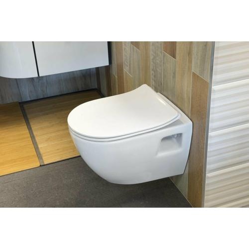Sapho PAULA fali WC, 35,5x50cm, WC-ülőke nélkül