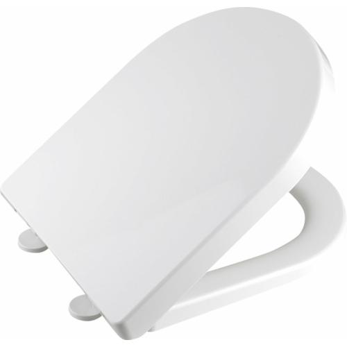 Aqualine DONA WC-ülőke, soft close, easy take, PP, fehér,
