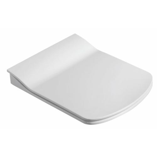 GLANC WC-ülőke, Slim soft close, duroplast, fehér