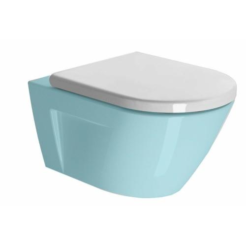 GSI NORM soft close WC-ülőke, duroplast, fehér/króm