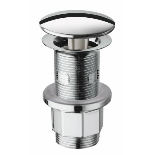 Sapho Nem zárható, mosdóhoz való leeresztő túlfolyóval és túlfolyó nélkül, kerek, V 10-80 mm